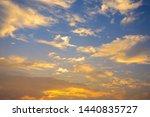 sundown from pantanal.... | Shutterstock . vector #1440835727