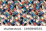 abstract colorful geometric ... | Shutterstock .eps vector #1440848531