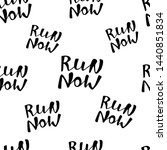 run motivation background.... | Shutterstock .eps vector #1440851834