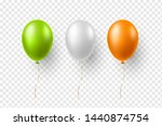 realistic air balloons in... | Shutterstock .eps vector #1440874754