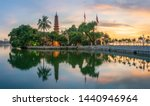 Small photo of Panorama view of Tran Quoc pagoda, the oldest temple in Hanoi, Vietnam