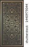Laser Cut Panel Design. Ornate...