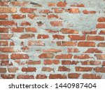 blank red brick wall. urban...   Shutterstock . vector #1440987404