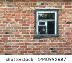 blank red brick wall with old...   Shutterstock . vector #1440992687