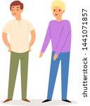sorry people vector... | Shutterstock .eps vector #1441071857