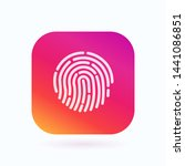 touch id. fingerprint icon....