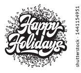 stylish calligraphic... | Shutterstock .eps vector #1441154951