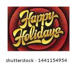 stylish calligraphic... | Shutterstock .eps vector #1441154954