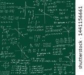 mathematics solutions. seamless ... | Shutterstock .eps vector #1441156661