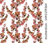 watercolor seamless pattern... | Shutterstock . vector #1441159364