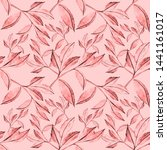 watercolor seamless pattern... | Shutterstock . vector #1441161017