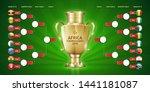 scoreboard broadcast template... | Shutterstock .eps vector #1441181087