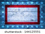 Wooden Usa Style Background