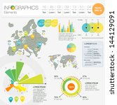 detail infographic vector... | Shutterstock .eps vector #144129091
