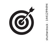 target goal success dartboard... | Shutterstock .eps vector #1441299494