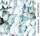 blue turquoise snake seamless... | Shutterstock . vector #1441372841