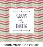 vector illustration. wedding... | Shutterstock .eps vector #144140209