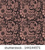 lace seamless pattern with... | Shutterstock .eps vector #144144571