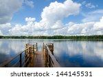 Lake Shore. Summer Landscape....