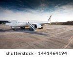 Passenger Plane On The Platfor...