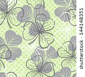 seamless floral pattern with... | Shutterstock .eps vector #144148351