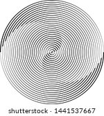 lines in circle form . spiral... | Shutterstock .eps vector #1441537667