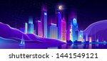 future metropolis business... | Shutterstock .eps vector #1441549121