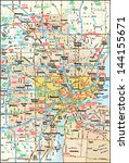 area,atlas,city,detroit,geography,graphic,highways,illustration,image,interstate,map,michigani,region,roads,travel