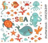cute sea creatures collection....