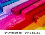 Colorful Chalk Pastels  ...