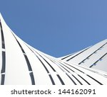 abstract architectural... | Shutterstock . vector #144162091