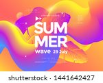 electronic music fest summer... | Shutterstock .eps vector #1441642427