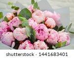 Big Beautiful Bouquet Of Pink...