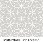 abstract simple geometric... | Shutterstock .eps vector #1441726214