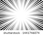 radial stripes abstract... | Shutterstock .eps vector #1441746074
