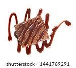 Piece Of Chocolate Brownie Cak...