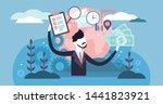 manager vector illustration.... | Shutterstock .eps vector #1441823921
