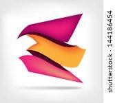 abstract paper speech bubbles | Shutterstock . vector #144186454