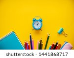 back to school colorfull...   Shutterstock . vector #1441868717