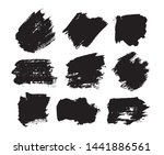 collection of paint  ink brush... | Shutterstock .eps vector #1441886561