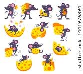 Cartoon Mouse Vector Mousy...