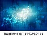 2d rendering stock market... | Shutterstock . vector #1441980461