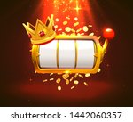 king slots 777 banner casino on ... | Shutterstock .eps vector #1442060357