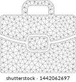 mesh briefcase polygonal icon...   Shutterstock .eps vector #1442062697