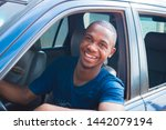 Young African  American Cab ...