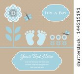 Baby Shower Card For Baby Boy ...
