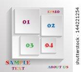 abstract geometrical design.   Shutterstock .eps vector #144221254