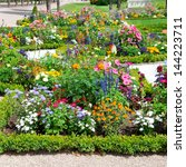 Delightful Flower Bed In The...
