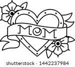 vector old school style tattoo... | Shutterstock .eps vector #1442237984