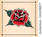 vector old school style tattoo... | Shutterstock .eps vector #1442238077